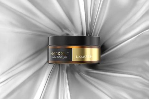 nanoil-maska na włosy z płynnym jedwabiem